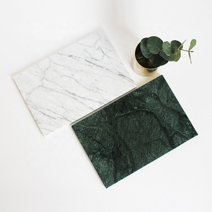 Natural Stone Mable Rectangular Serving Slate Plate For Sale