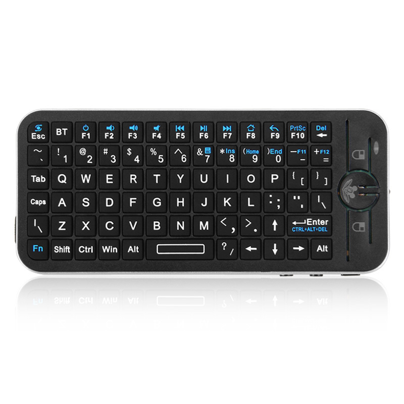 e71ac4dbb84 iPazzport Bluetooth Keyboard Air Mouse Keyboard for Remote Controller for  Google Android TV IOS Android Smartphone