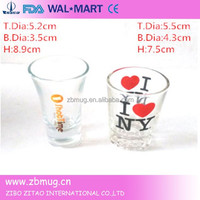 I love New York 60ml shot glass cup in cheap
