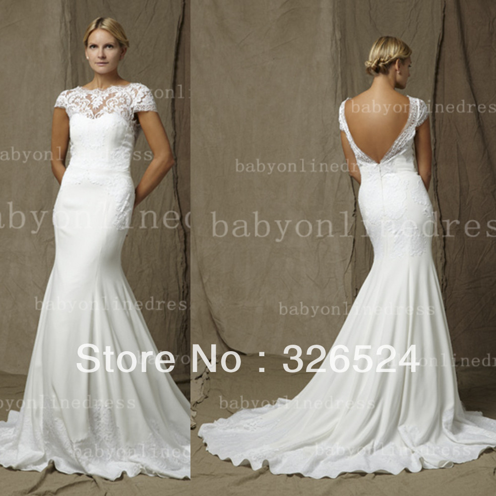 Brazilian lace wedding dresses