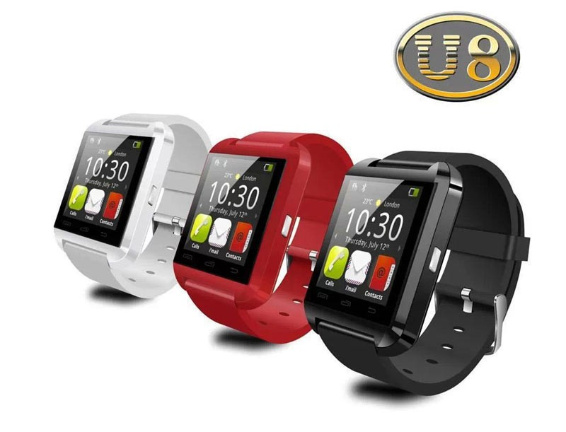 New Activity monitor Sport Smartwatch u8 BT watch - Smart
