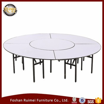 Whole Low Price Round Banquet Folding 12 Person Dining Table People