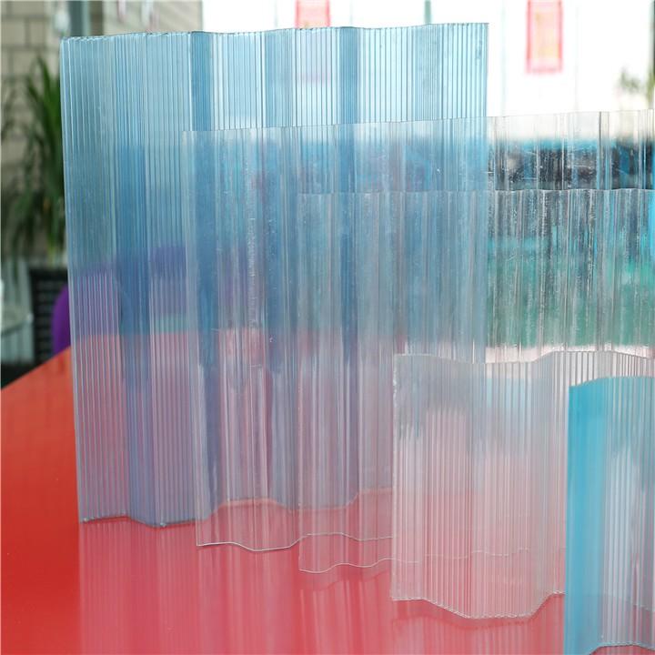 Feuille Ondul 233 E De Polycarbonate En Plastique Panneau De