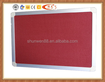 Wall Mounted Hanging Cork Board Prices Notice Pinboard For Office
