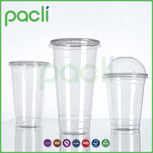 Product quality warrentee Product diversity custom logo printed wholesale disposable plastic cup with lid