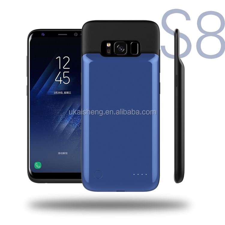 2017 Shenzhen Mobile Power Supply, Ultra Thin battery case For Samsung Galaxy S8