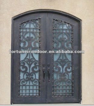 Wrought iron entry door glass inserts door window inserts better quality than lowes exterior wood doors & Wrought iron entry door glass inserts door window inserts better ...