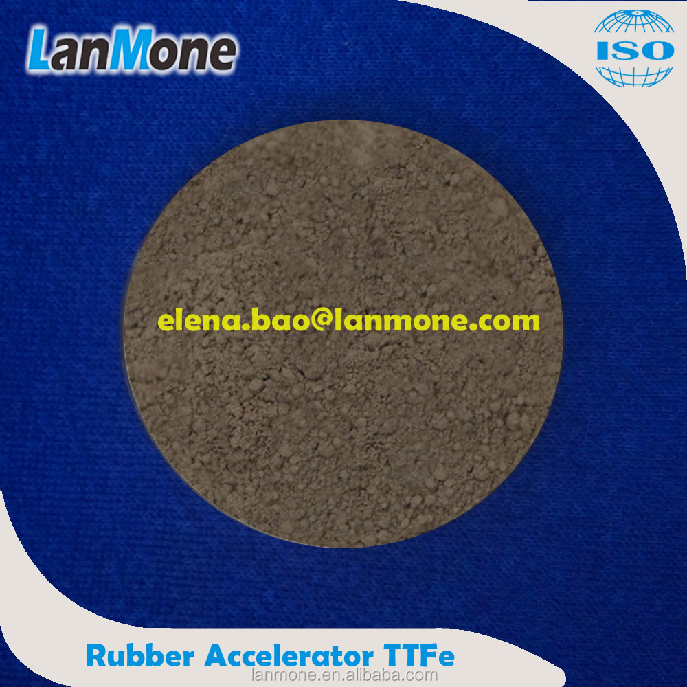 Rubber Raw Material Rubber Accelerator TTFe Used In IR, BR; CAS NO: 14484-64-1