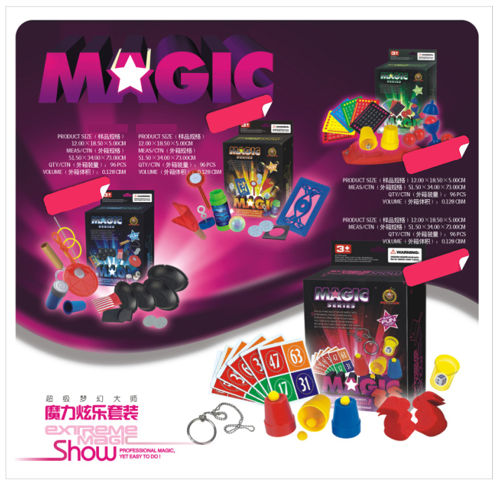 Professional Hot Selling Easy Play Magical Tricks For Kids