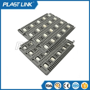 Plast Link400 roller conveyor belt for carton conveyor belt