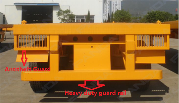 Factory Price 20ft 40ft Skeleton Container Semi Trailer,Container ...