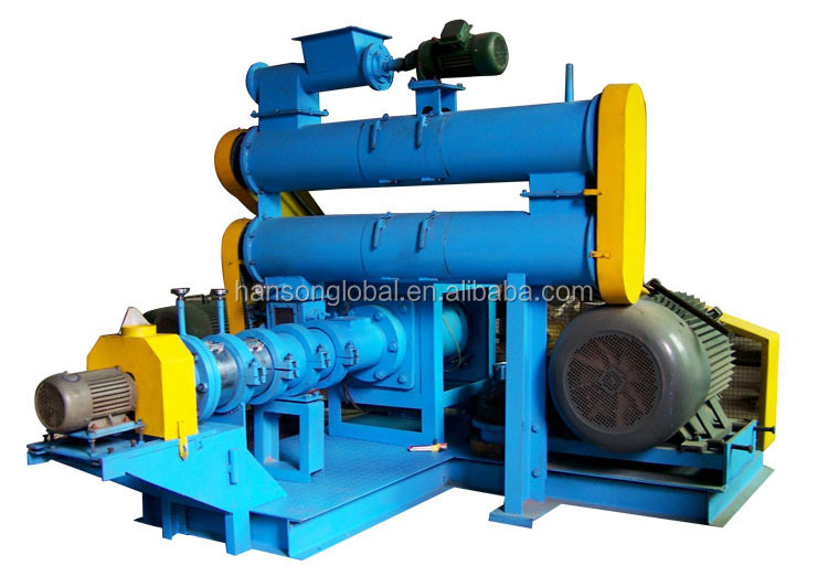 Long time floating fish feed pellet mill / machine used in animal food extrusion