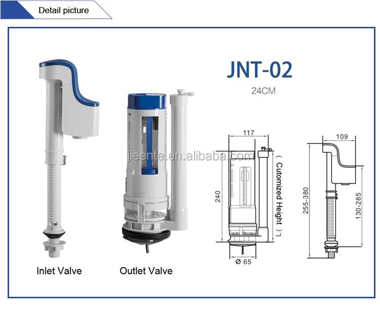 Badkamer plastic waterklep wc stortbak onderdelen buy wc for Badkamer onderdelen