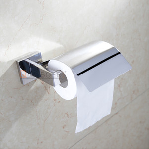 Hot sale chrome wall mounted bathroom tissue dispenser toilet paper holder