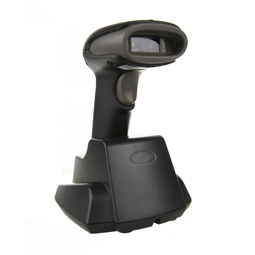 OBM-330 1D/2D Wireless Barcode Scanner with charging cradle