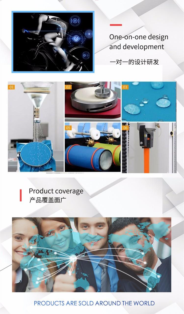 Polyester spandex dokuma 4 yönlü streç dri fit kumaş