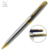 2017 lower MOQ metal twist ball pen slim cheap personalized pens for advertising quality