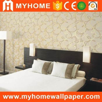 Modern Simple Design 3d Ceiling Background Pvc Wallpaper Living Room ...
