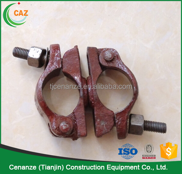 cast iron pipe stainless steel scaffold coupler for construction