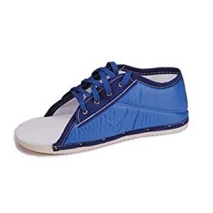Post-op Blue Nylon Shoe Size: Pediatric, Gender: Men, Style: Lace Up