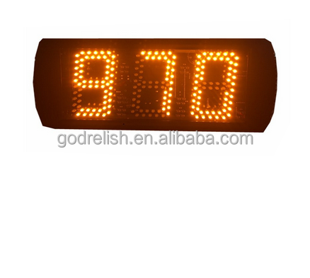led counter display digital price display for supermarket buffet counter