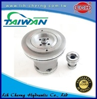 03-way superimposed check 10 sizing standard solenoid valve 101-5tx series steering control unit