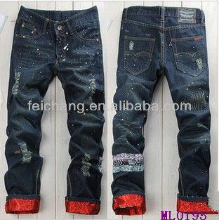 Jean Pants Garment,Apparel Hot Fancy Denim Unique Design Name Men ...
