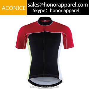 RA054 OEM & ODM UV50+ best price oem design short sleeve jersey cycling gear with printing