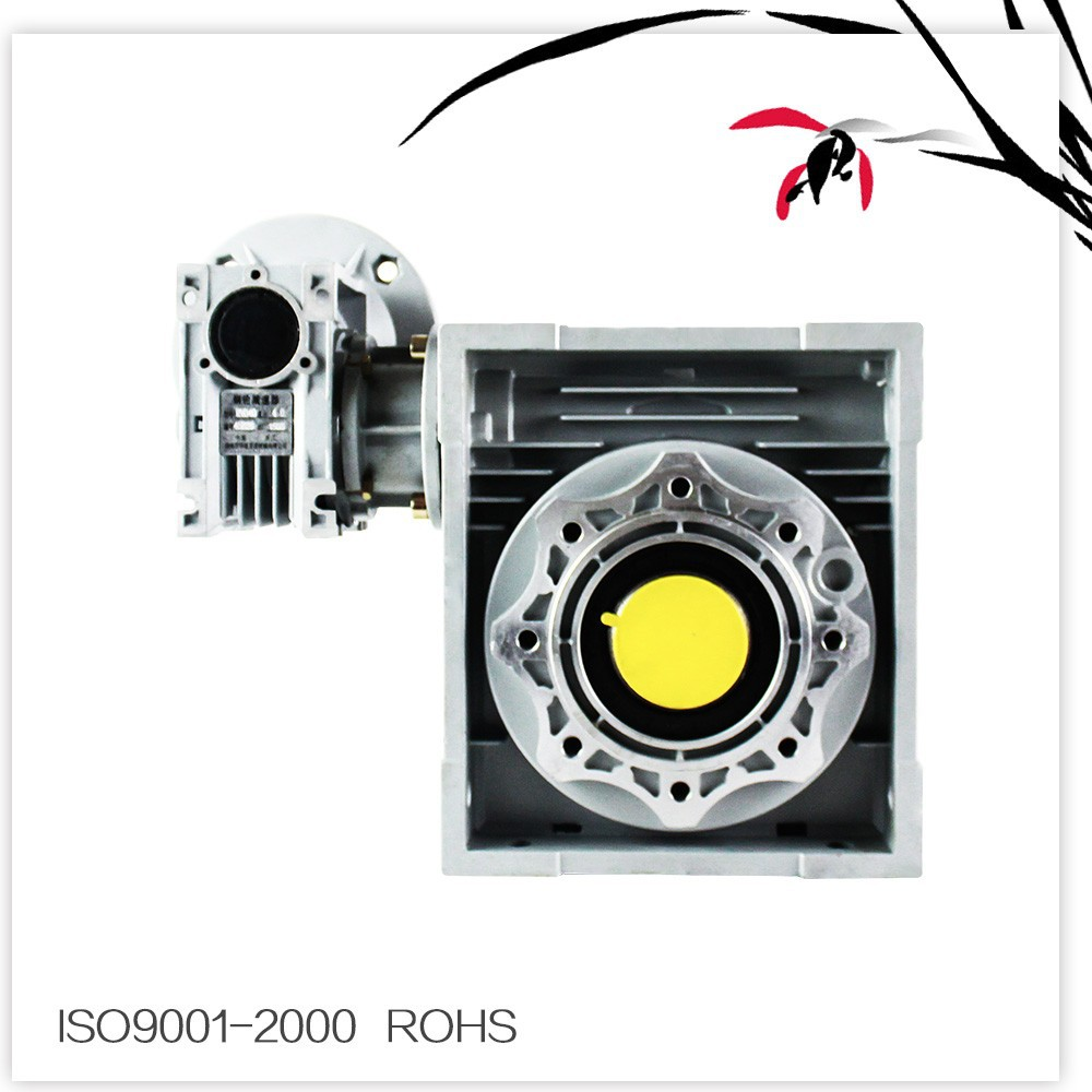 Die Cast Aluminum cast iron case NMRV 025-150 Worm Speed reducer ,Gearbox Matched With Motor worm drive for Industry
