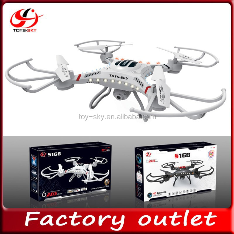 new product toysky 2.4GHZ Middle size RC quadcopter with 2.0Mpx HD camera 3D Fly rc drone