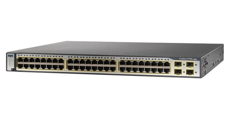 Genuine New or Used WS-C3750G-48TS-E Cisco 48 Ports Multilayer Switch