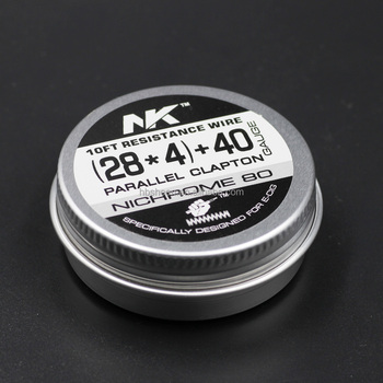 Superb Quad Fused Clapton Wire Nichrome 80 28 28 28 28 40Ga10Ft Ni80 Four Wiring Cloud Toolfoxcilixyz