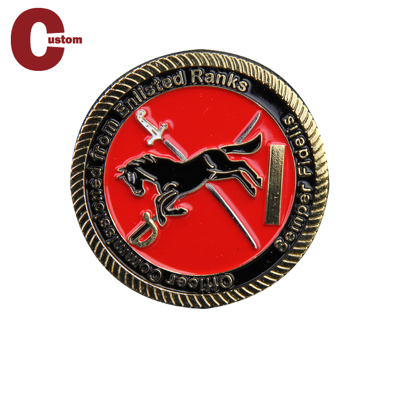Custom High Quality Masonic Lady Memory Metal Game Military Happy Birthday Challenge Coin