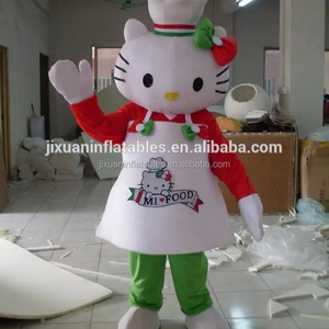 cheap price lovely hello kitty mascot costume,costume for adults hello kitty