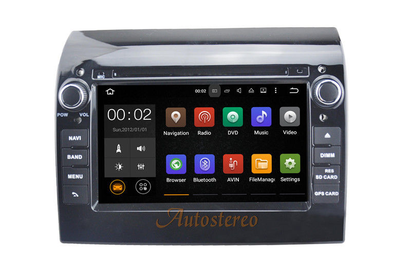 Android 5.1 Quad Core Car DVD Player GPS Navigation for FIAT DUCATO 2011-2015 Car Stereo Radio