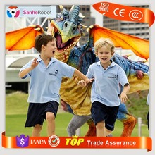 Sanhe Robot Kids Attraction Equipment Walking realistic Newest Dinosaur Costume adult