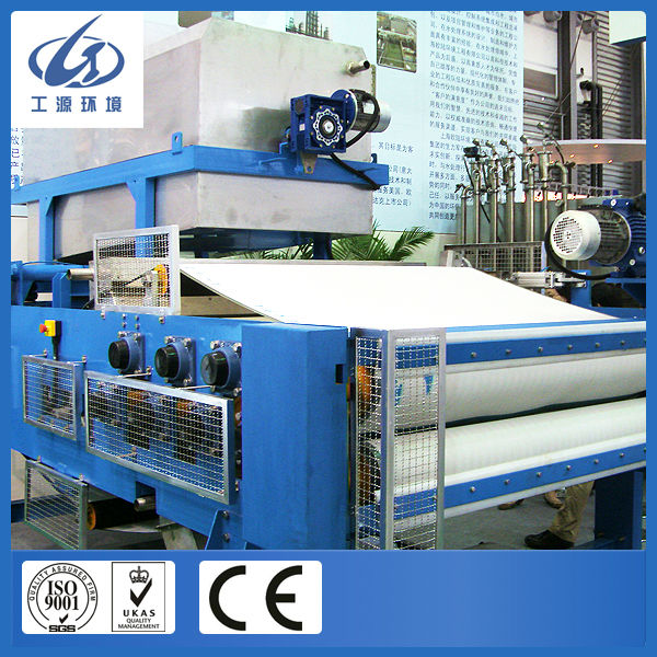 Sludge dewatering production