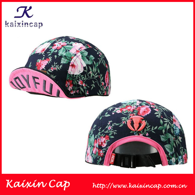 2013 heated hipster customized design flat embroidery logo blank cycling hats and caps