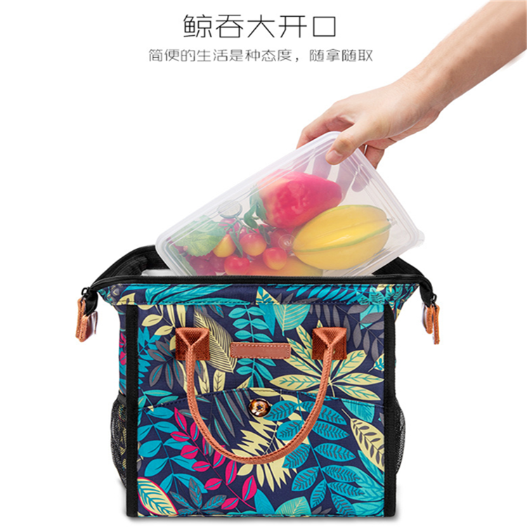 Osgoodway Insulated 4 Person Picnic Backpack Hamper Cooler Bags Lunch Bag for Family