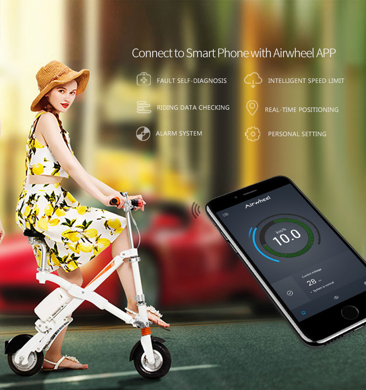 Airwheel E6 foldable scooter Portable And Easy Carry
