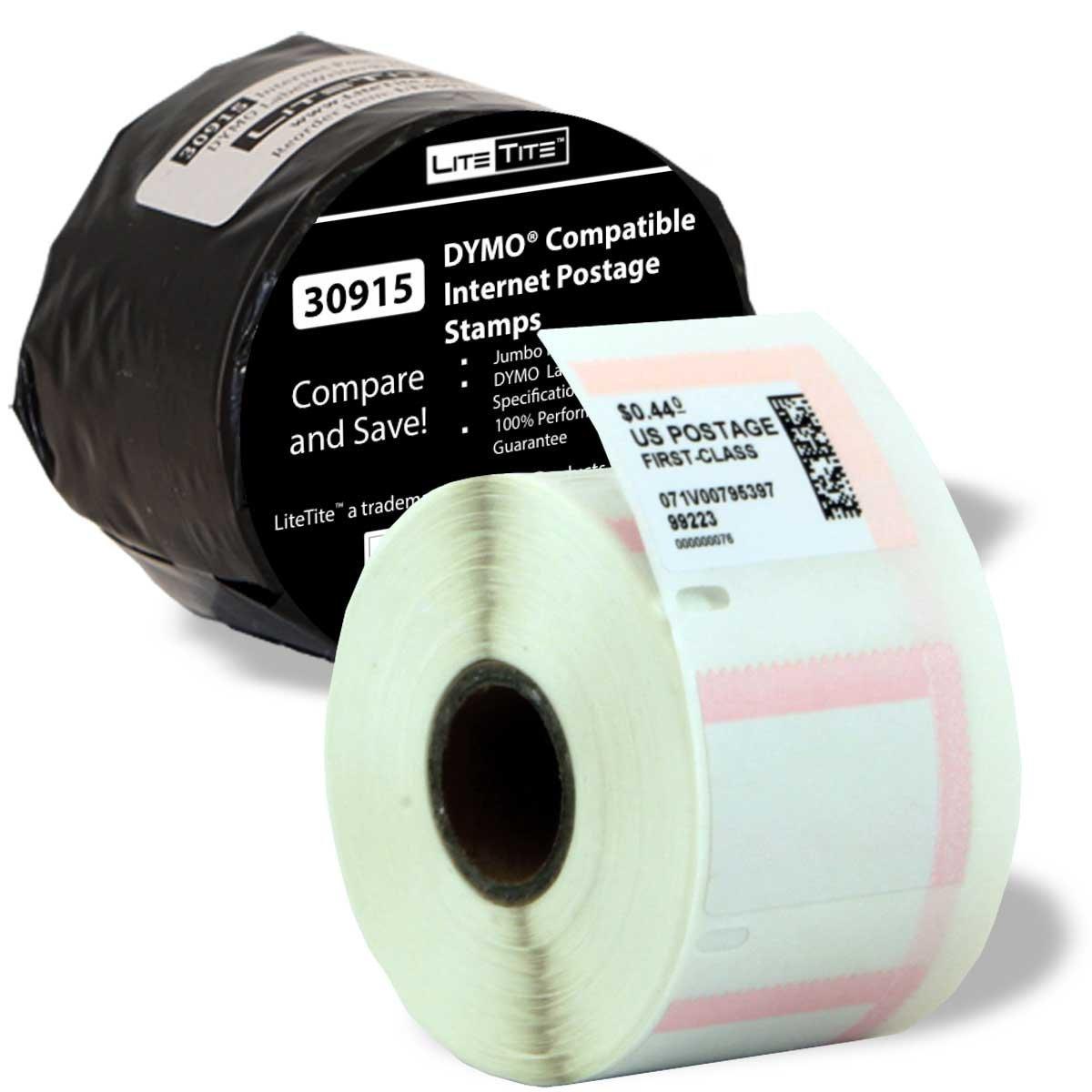 Buy LiteTite 30915-Jumbo (1 Roll) DYMO LabelWriter (LW