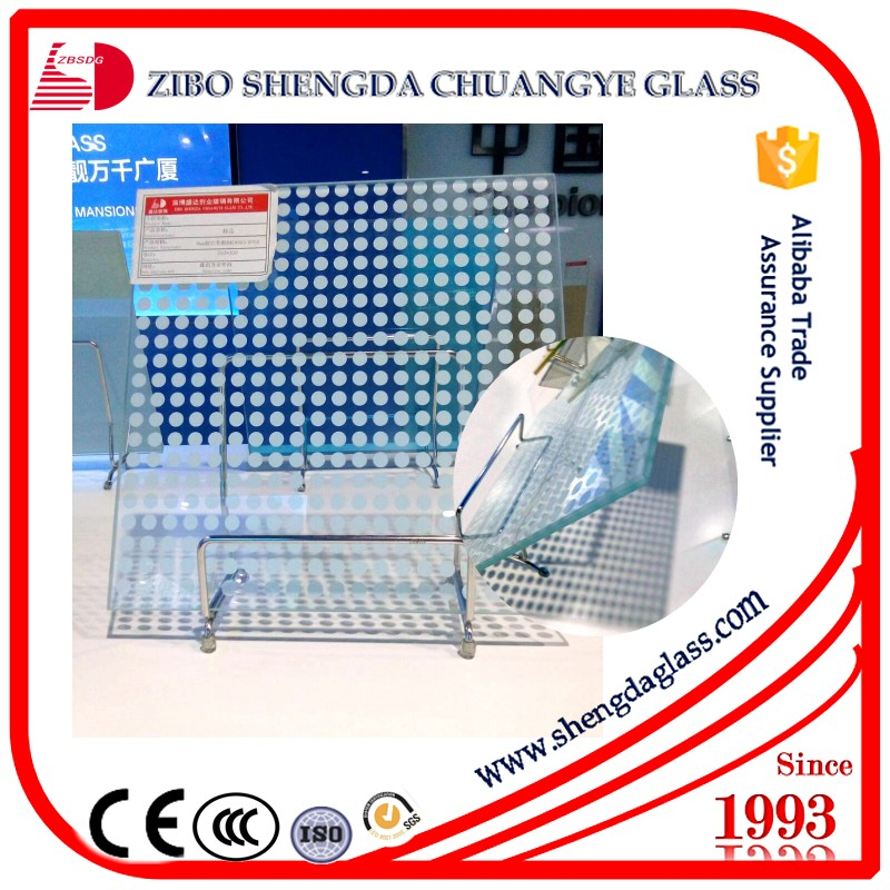 Customized color,picture Glazed glass with CE standard