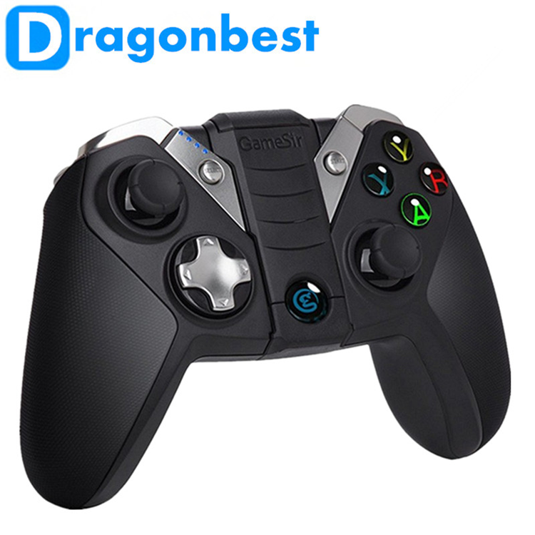 2017 Best price of GameSir G4S Gamepad Wireless Blutetooth Controller 5.5 inch android phone gamepad OEM controlling