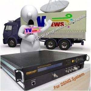 DVB-S2 MPEG-2/H.264 HD Encoder Modulator SDI to DVB-S2 Modulator