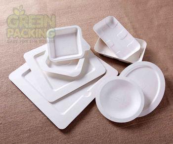sugarcane bagasse disposable tableware/ biodegradable tableware/ biodegradable plates & Sugarcane Bagasse Disposable Tableware/ Biodegradable Tableware ...