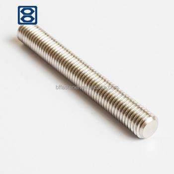 Threaded Rod Length 1 Meter Din 976-1a Steel Zinc Plated 4 8 M8 - Buy Din  976 Metric Thread Stud Bolts,Stainless Steel Threaded Bar Din 976,4 8 / 8 8