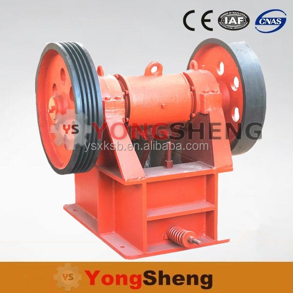 Mini Stone Breaking Jaw Crusher Machine / Used Small JawCrusher For Sale