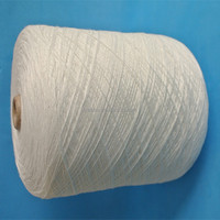 Raw white 30s polyester spun yarn for sewing thread / 100% spun polyester yarn / cheap price for polyester yarn