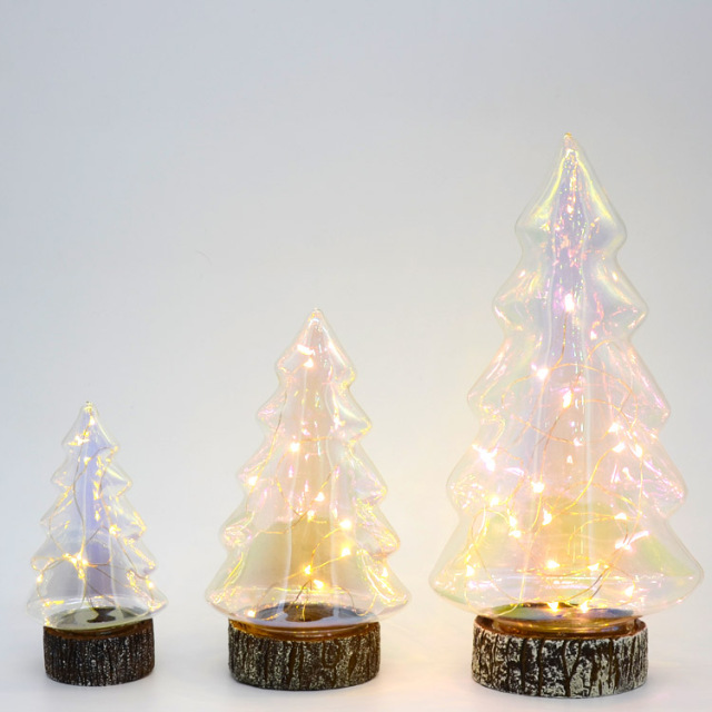 Customized 3D illuminated battery powered christmas decoration gifts