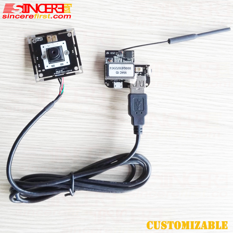 Hot selling mini full hd wifi pinhole camera module with motio For Machine imaging
